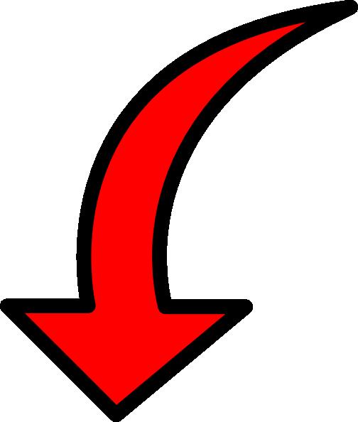 flecha roja abajo